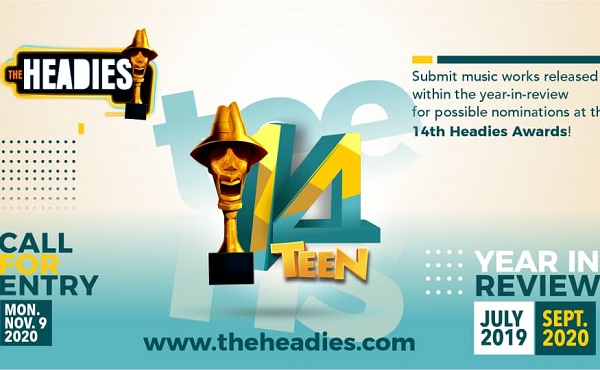 he Headies announces new category as entries for 14th edition open