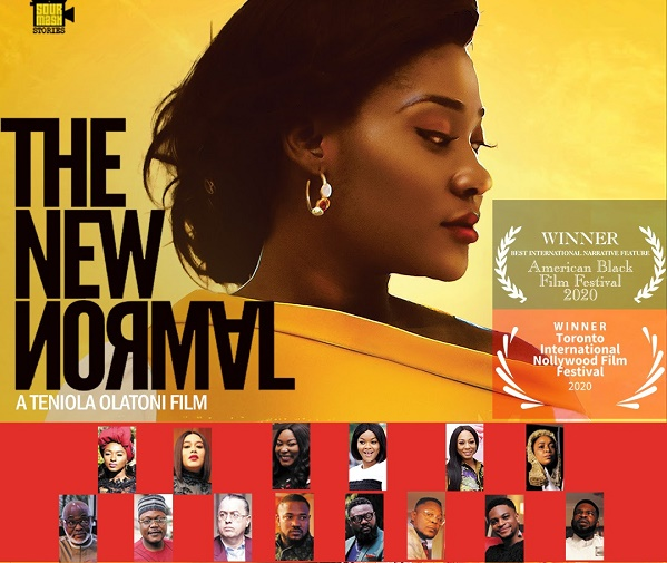 'The New Normal' premieres in Lagos -- starring RMD, Mercy Johnson, Kehinde Bankole