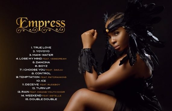Yemi Alade enlists Estelle, Patoranking, Rudeboy for 'Empress' album
