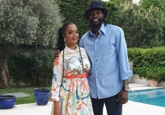 Emmanuel Adebayor accuses Dillish Mathews, ex-girlfriend, of cheating
