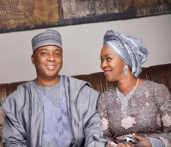 'Thanks for 4 wonderful children' -- Saraki celebrates wife on 29th wedding anniversary