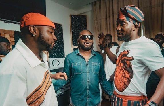Timi Dakolo, Davido hit studio for music project 'The Chorus Leader'