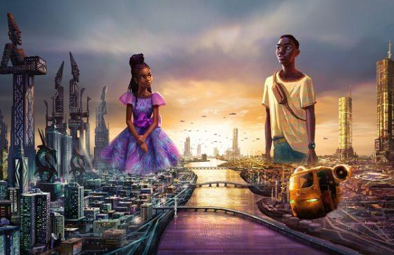 ICYMI: Disney announces 'Iwaju' -- Afro-futurist series set in Lagos