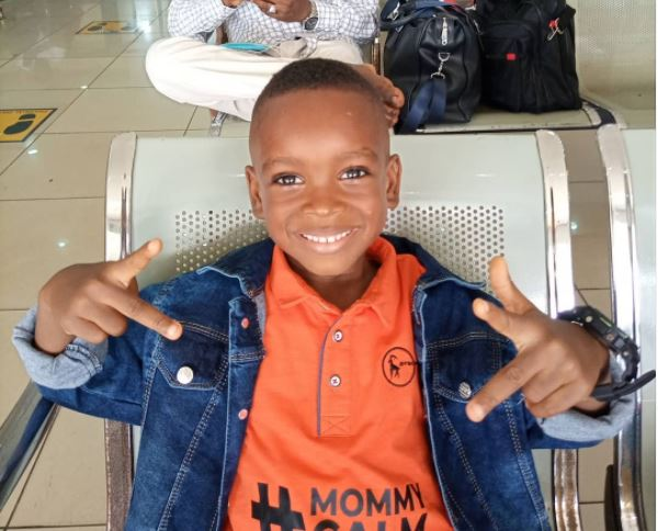 Boy in 'mummy calm down' video to star in Kunle Afolayan's new project
