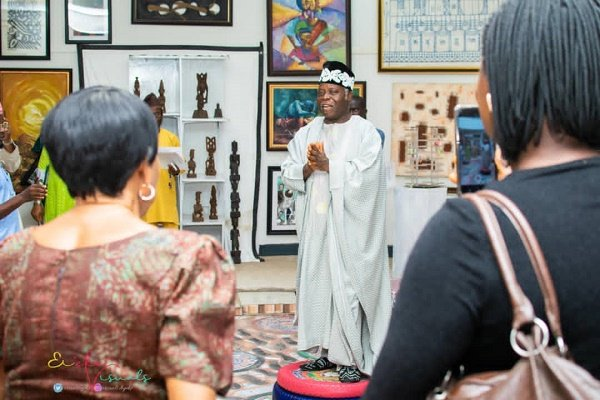 PHOTOS: Tunde Odunlade launches cultural centre in Ibadan
