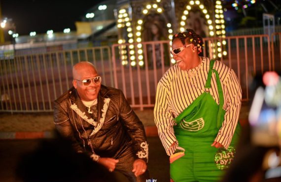 VIDEO: Shina Peters features in Teni's 'My XXXL Life'