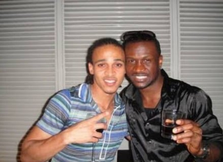 'You're sick' -- Peter Okoye, Osaze Odemwingie trade words on Instagram