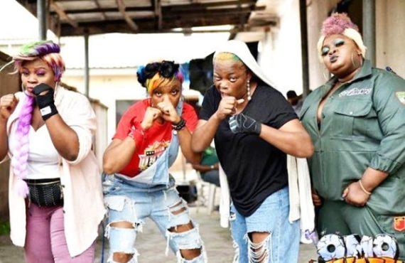 WATCH: Funke Akindele, Chioma Akpotha, Eniola Badmus show off rapping skills in 'Askamaya Anthem'
