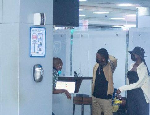 Omah Lay, Tems finally arrive Nigeria from Uganda