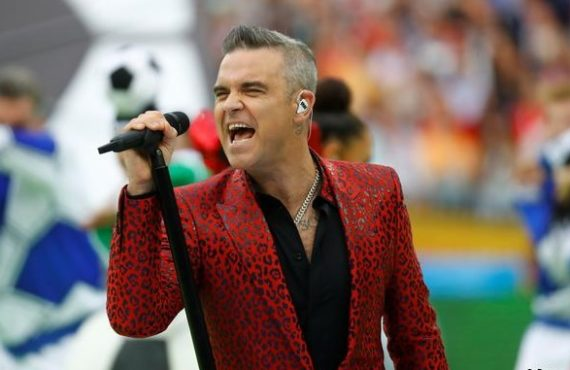Robbie Williams 'tests positive for COVID-19'