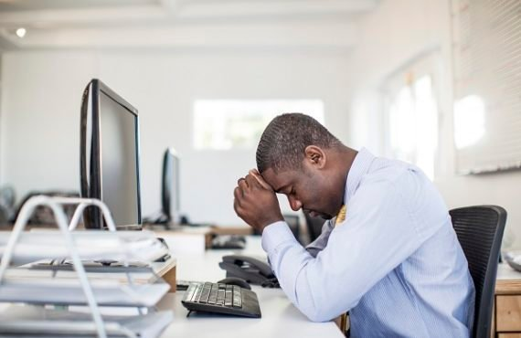 Four simple ways to cope with stress at work