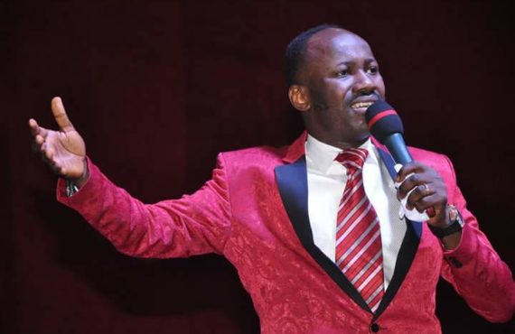 Apostle Suleman: I bought my third jet during COVID… prayed…