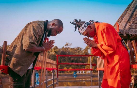 WATCH: Davido teaches Mayorkun martial arts in 'The Best' visuals