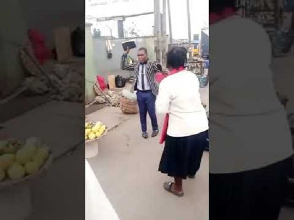 two preachers fight over space in Lagos