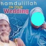 reactions as aged man marries young girl