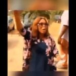 VIDEO: Drama as woman disrupts husband's secret wedding to another lady in Abia