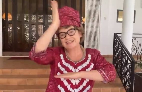 VIDEO: British high commissioner to Nigeria joins #BeLikeNgoziChallenge