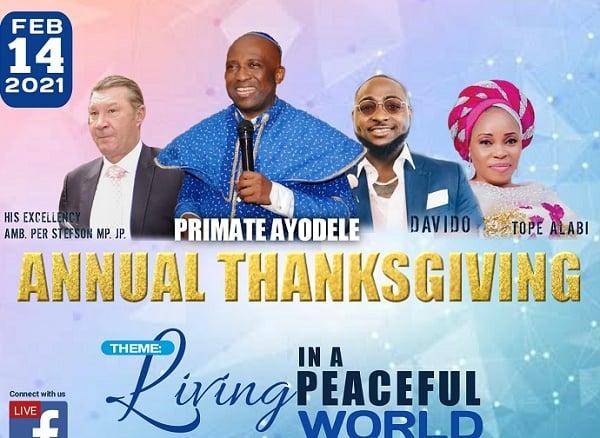 EXTRA: Lagos church enlists Davido for thanksgiving service