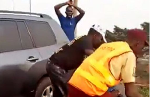 Policeman knocked off Lagos bridge discharged from hospital as driver…