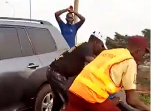 Policeman knocked off Lagos bridge discharged from hospital as driver risks jail