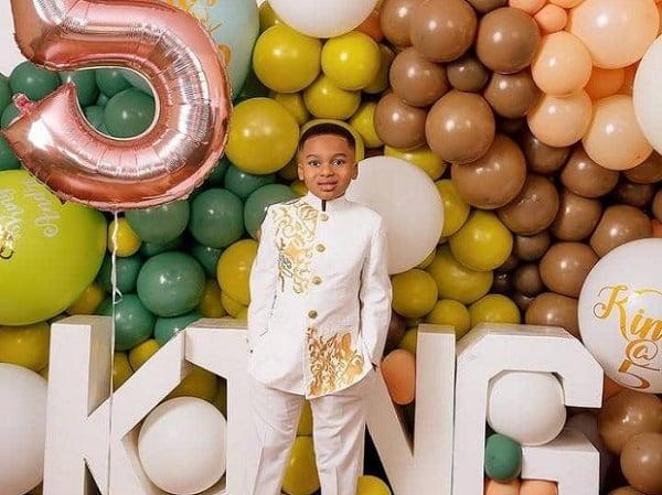 Tonto Dikeh celebrates son on 5th birthday