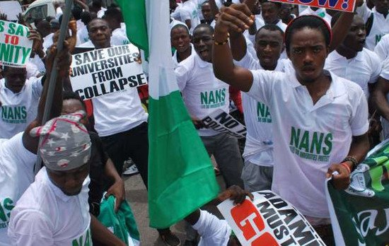 NANS: How FG can reduce varsity strikes to avert security implications