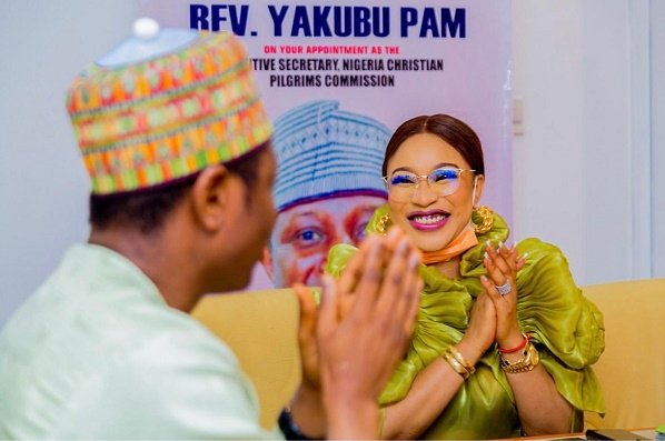 Tonto Dikeh: There are video proofs of my appointment by Christian commission