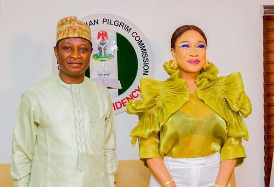 Tonto Dikeh appointed as ambassador for Christian commission