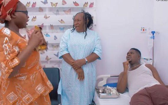 WATCH: BBNaija's Dorathy, Patience Ozokwor star in Mr Macaroni's skit