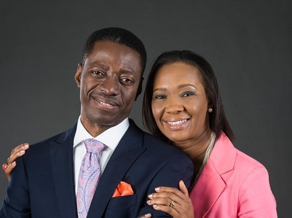 Sam Adeyemi's wife celebrates him on his 54th birthday