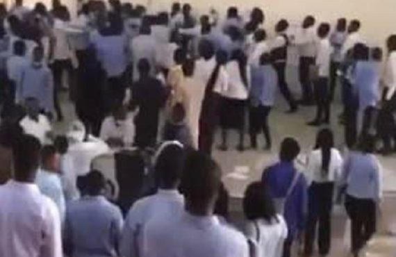 EXTRA: UniAbuja students beat lecturer for 'collecting answer scripts 45-minute…