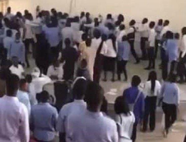 EXTRA: UniAbuja students beat lecturer for collecting answer scripts 45-minute into 3-hour exam