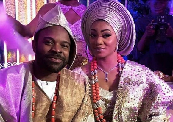 'My marriage is still intact' -- Gabriel Afolayan reacts to rumoured split