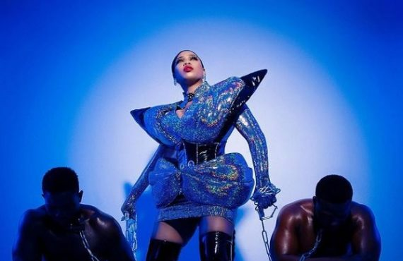 PHOTOS: Toyin Lawani dazzles in racy birthday shoot