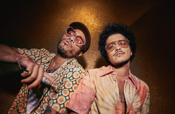 LISTEN: Bruno Mars, Anderson Paak team up for 'Leave the…