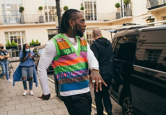 VIDEO: 'Big win for Africans' -- Burna Boy ecstatic after clinching first-ever Grammy