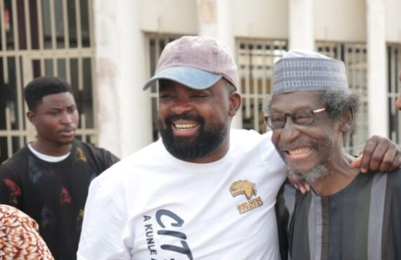 Kunle Afolayan: Sadiq Daba had oxygen machine while acting in…
