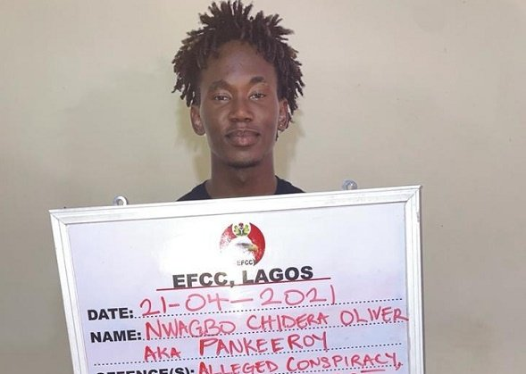 EFCC arrests Pankeeroy, IG comedian, for 'internet fraud'