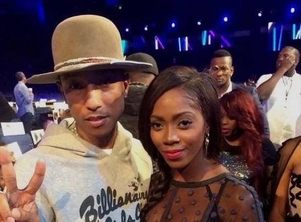 Pharrell Williams hails Tiwa Savage's upcoming EP, 'Water and Garri'