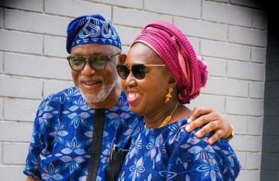 'My crossing the Niger worth it' — Akeredolu's wife marks…