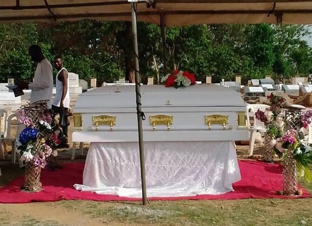 PHOTOS: Tears as Rachel Bakam is laid to rest