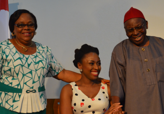 'How does a heart break twice' — Chimamanda mourns late parents in touching tribute