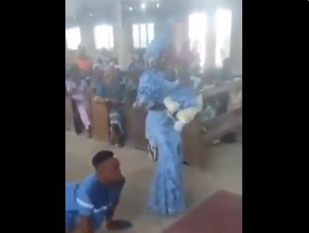 VIDEO: Man with disability, wife show off dance moves during…