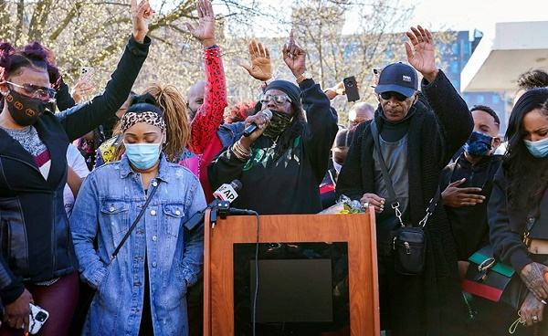 DMX's family, supporters hold prayer vigil as he remains hospitalised
