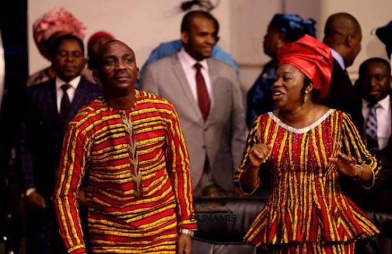 Paul Enenche, wife mark 27th wedding anniversary at Lokoja crusade