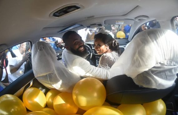 PHOTOS: Mr Macaroni, DJ Neptune grace Woli Arole's wedding