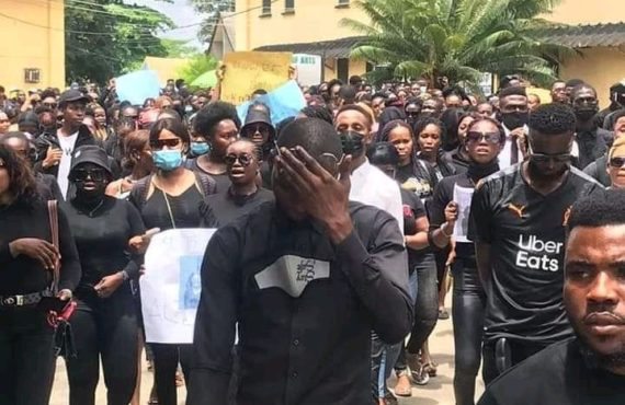 Tears as UNIUYO students hold procession in honour of murdered…