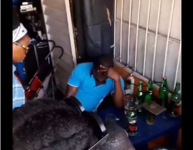 VIDEO: Chidinma preaches at beer parlour -- days after dumping secular music