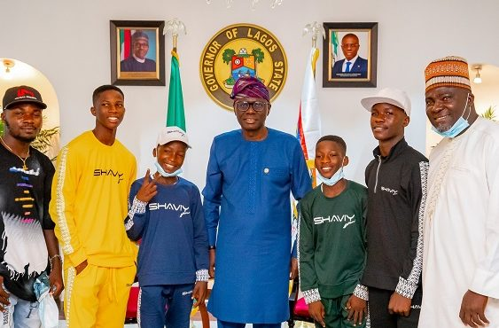 'We're proud of you' — Sanwo-Olu hosts Ikorodu Bois