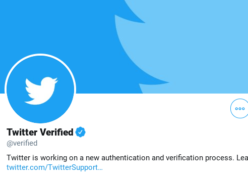 Twitter pauses public requests for verification